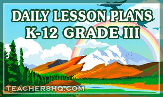 Detailed Lesson Plan for Grade 3