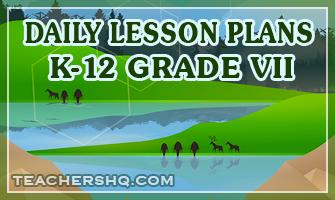 K-12 Detailed Lesson Plans (DLP)